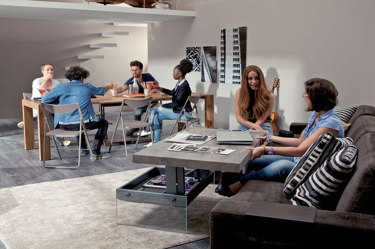 Extendable Tables by Ozzio Design.