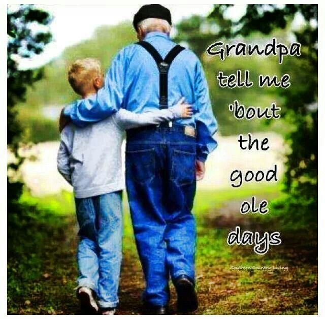 Sure miss my grandparents and parents...wanna hear about the good ole days!