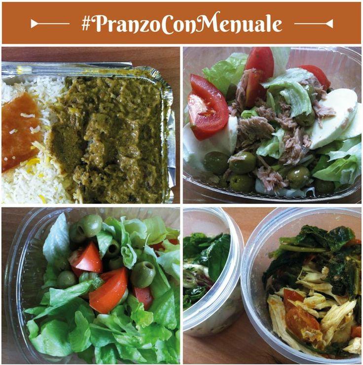 Su 4 piatti, 3 sono insalate: questo vuol dire avere tanto donne nel team. #PranzoConMenuale