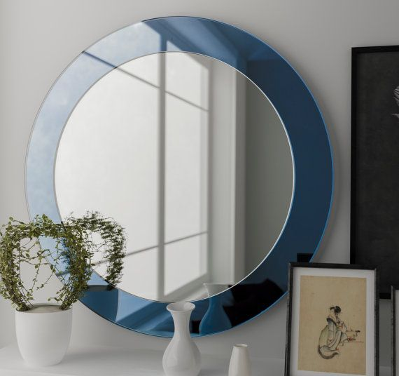 Blue Wall Mirror best 25+ blue wall mirrors ideas only on pinterest | diy blue