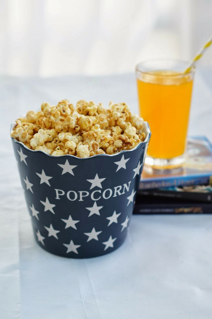 Popcorn med karamel - Coco & Co