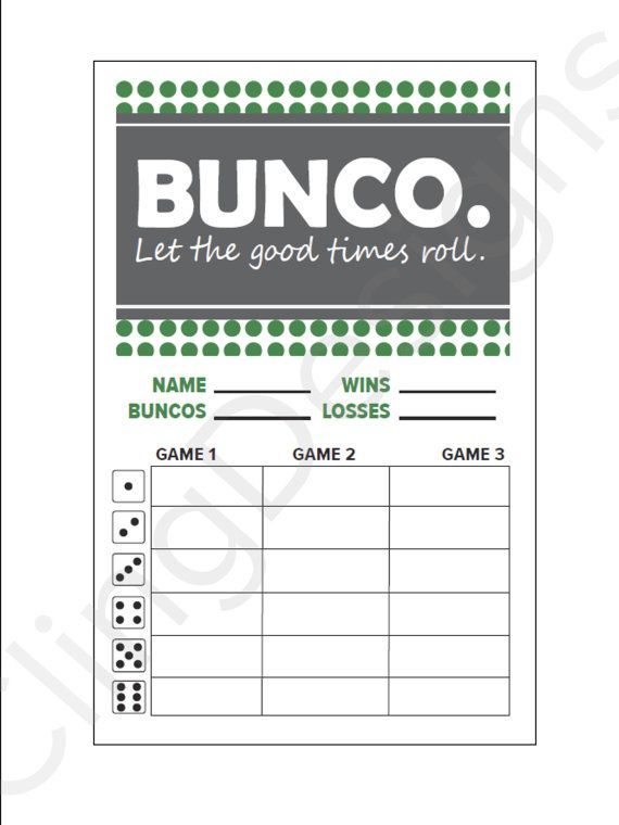 25 best ideas about bunco prizes on pinterest bunco for Free bunco scorecard template