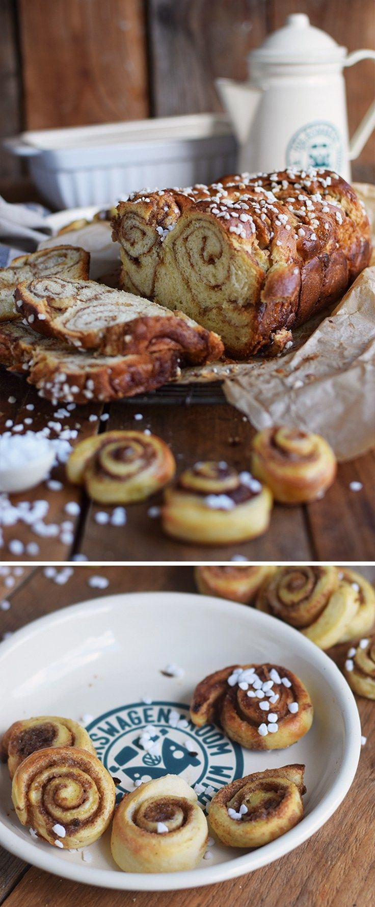 Zimtschnecken-Brot – Cinnamon Roll Bread: A fluffy and sweet cinnamon roll bread is a great snack to take on a road trip. Bake your cinnamon rolls into one big loaf full of great flavour. Do you want to see even more great road trip recipes? Well, just check out the great group board by Volkswagen which features ideas from several bloggers. Let's make sure our road trips are delicious. https://de.pinterest.com/volkswagen/food-bloggers-for-volkswagen/