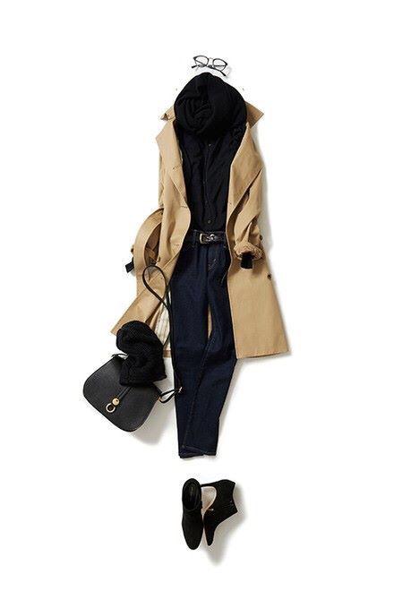 ベーシックスタイルを女っぽく(2015-11-11)