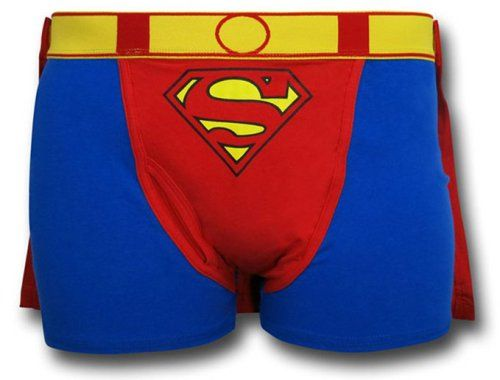 Superman Caped Boxer Brief (16th birthday gifts for boys)
