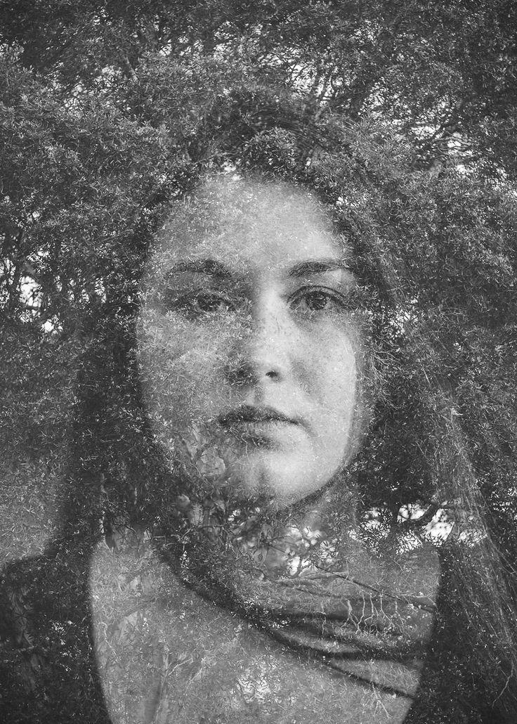 Simone in double exposure