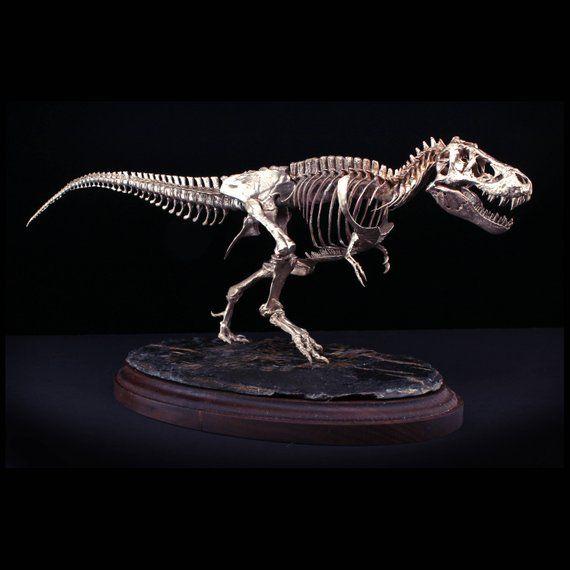 Cast Bronze Tyrannosaurus Rex Heirloom Quality Dinosaur Skeleton