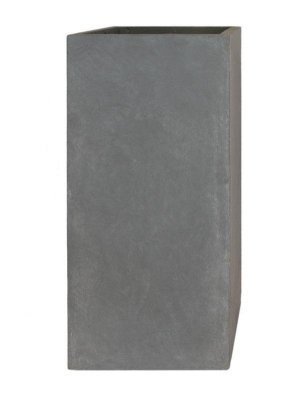 Pflanzkubel Tower Grau 50cm X 23cm X 23cm Pflanzkubel