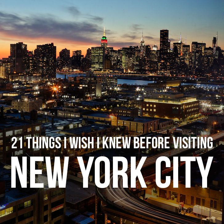 There is no city like New York. If it's your first time visiting, you probably already have an image in your head of what the experience will be like from TV shows and movies, but you'll quickly realize that reality may not align with your expectations.
