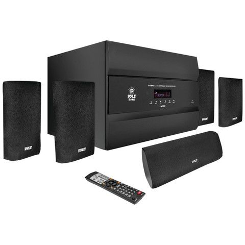 Bluetooth Home Theater Sound System 400 Watt 5.1 Channel Amplifier Pre Amp