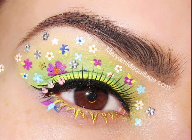 Gorgeous summer flower eyes