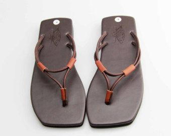Antigua Roma griega sandalias cuero Gamuza zapatos por SpellBlender