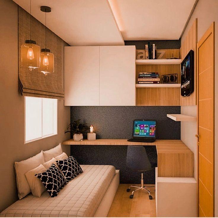 Como decorar e aproveitar todos os cantos de uma pequena sala   – Modern villa