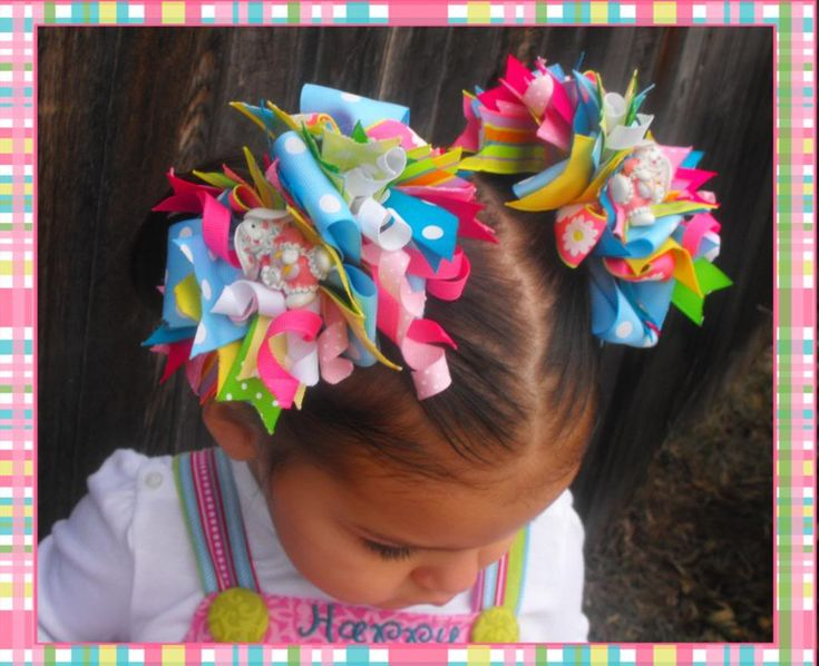Free Homemade Hair Bows Instructions | did it....I just bought the funky loopy instructions - Page 2 - Hip ...