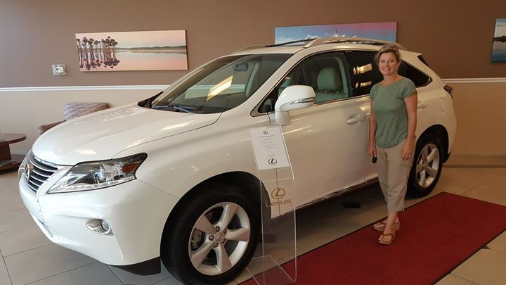 Congratulations to April L. on her new 2014 #Lexus #RX350 from Lexus of #OrangePark which she purchased with our Team Member Steve! Thanks for being part of the Fields Auto Group family. #Lexus