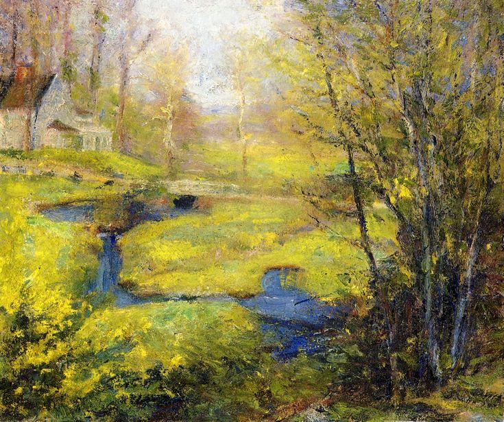 Springtime  Robert Vonnoh