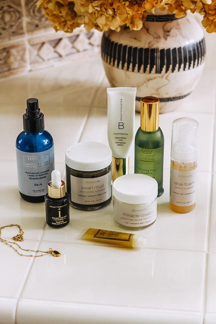 the clean skincare products I can't live without