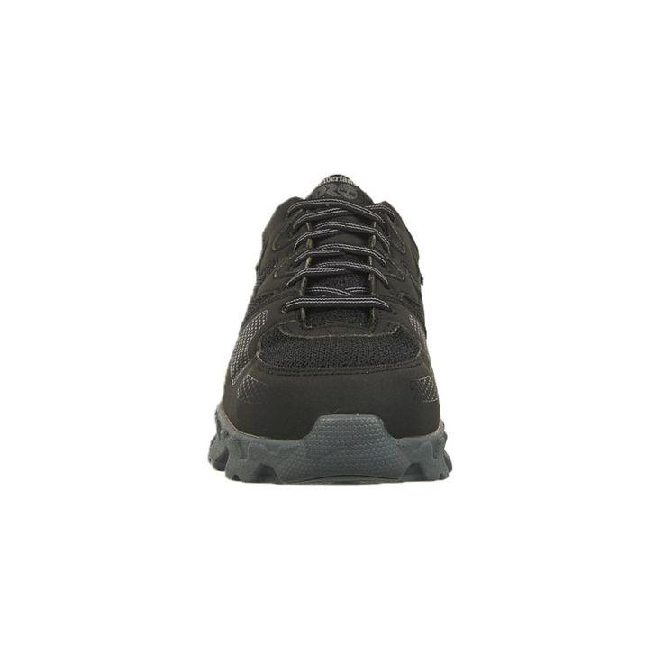 Timberland Pro Men's Powertrain Alloy Safety Toe Work Shoes (Black/Grey Microfibe) - 11.5 M