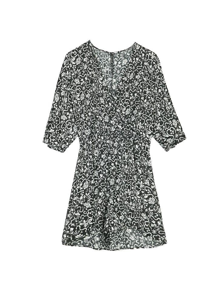 Kombinezon kimono we wzory - Sukienki | Stradivarius Polska