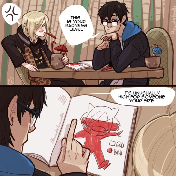 Everything Anime! — More Yuri on Ice spam. Again i take no credit, all...