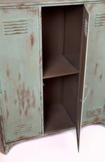 New Vintage Locker groen 3 deurs. Nieuw. | Rootsmann