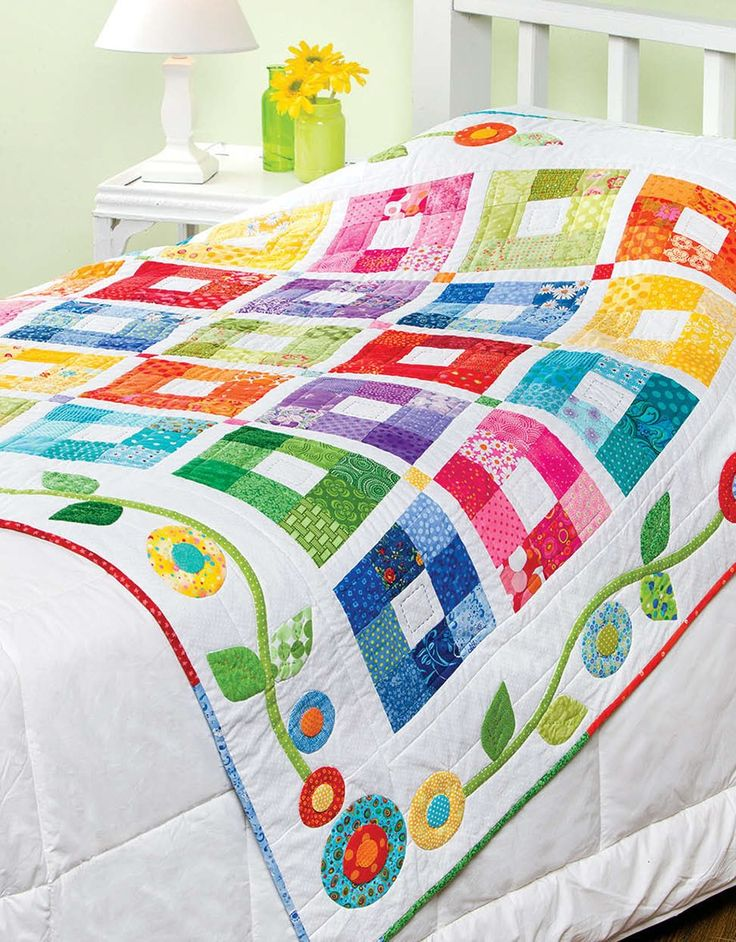 Create a keepsake baby quilt perfect for that new arrival. Annieís Baby Bright Quilts will become your go-to source every time a special baby quilt is needed. Ten fresh-looking projects include Color Therapy Throw (a simple twist on a Nine-Patch quilt), Twist and Turn (make it in a day), Nite-Time Baby Bear (a keepsake treasure), Itís Not Easy Being Green (cuddle up with cute appliquÈ frogs), Little Trip to Bali (with scrappy baby elephants), Hush-a-Bye (a two-block wonder), Diamonds Royale…