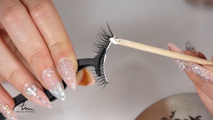 Cómo poner pestañas postizas | Móni Make-up