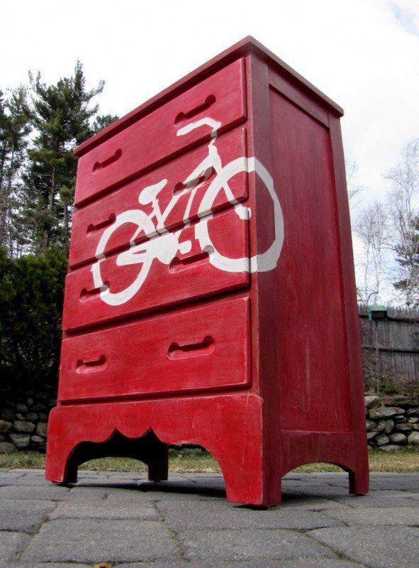 An Inspired Bike Dresser