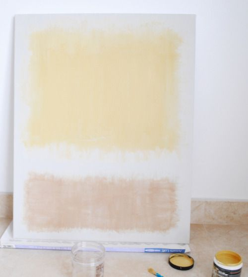 Learn how to do this Mark Rothko painting!