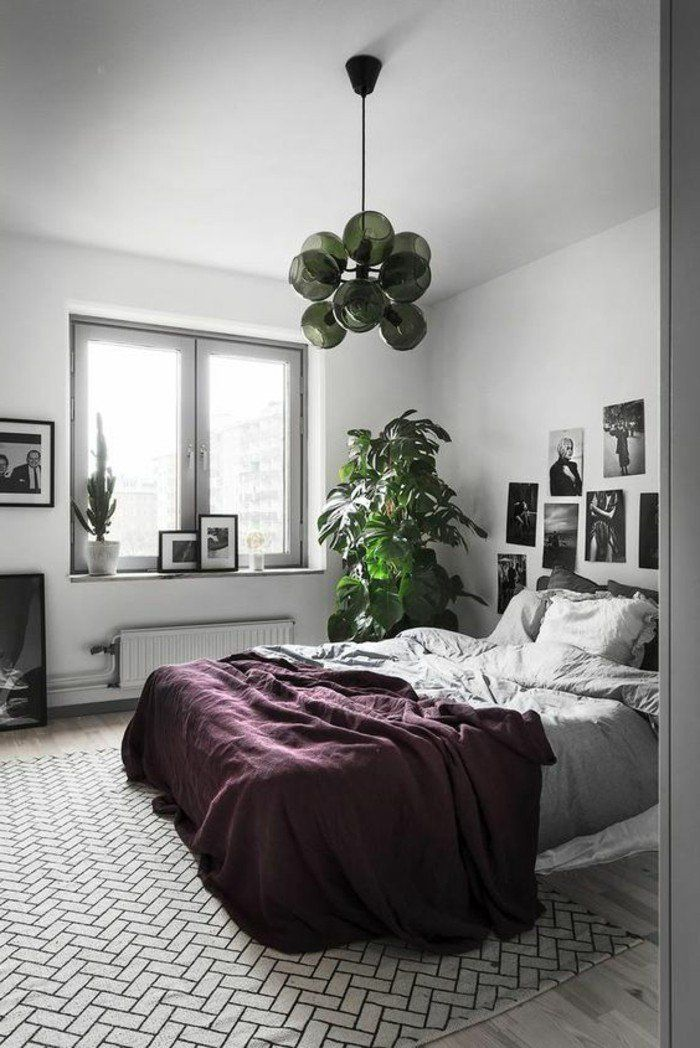 les 25 meilleures id es de la cat gorie chambre violet gris sur pinterest chambres gris. Black Bedroom Furniture Sets. Home Design Ideas