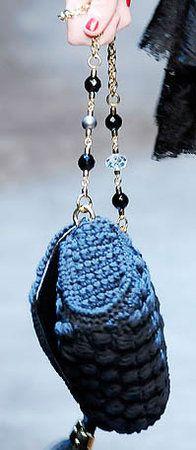 Tres  39  Chic Dolce  amp  Gabbana Miss Charles Crochet Handbag