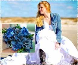 Новый образ невесты: джинсовая свадьба