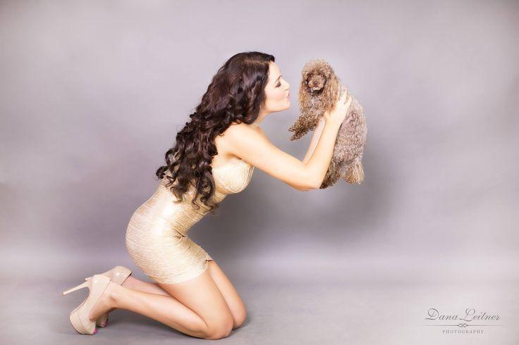 Nafotíme Vás i s Vaším domácím mazlíčkem. ;)  #ModelOne #DanaLeitnerPhotography #MakeupArtistLucieUxova