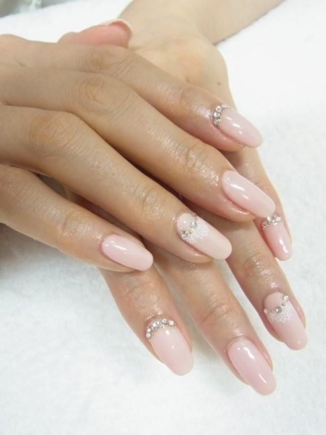 See more about nails. bridalnail