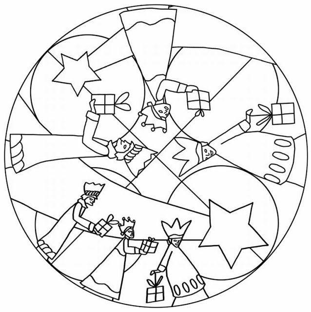 Mandala de los reyes magos 2