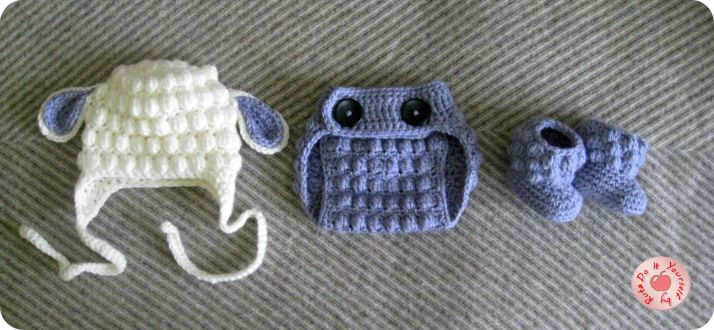 Crochet Diaper Cover / FREE pattern