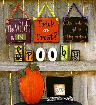 1139 best Halloween images on Pinterest Halloween prop, Halloween - cute easy halloween decorations