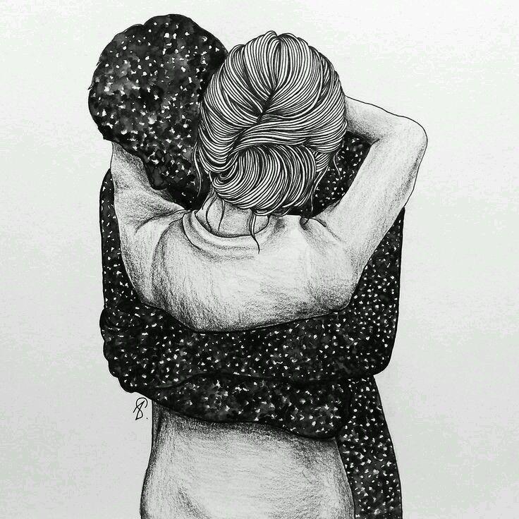 No debería ser tan difícil pedir y conseguir un abrazo,  pedir un abrazo sin razón, es la humana reacción de quien siente por un instante que es succionado por ese vacío que se forma en el alma cuando se pierde una ilusión y abrazarse entonces, es una manera de asirse a la vida, de no caer en ese abismo que parece abrirse bajo los pies,  un abrazo que sosiega a quien lo recibe y enriquece a quien lo brinda. Drinakaos.