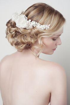 'CELESTE' BRIDAL HEADDRESS - :