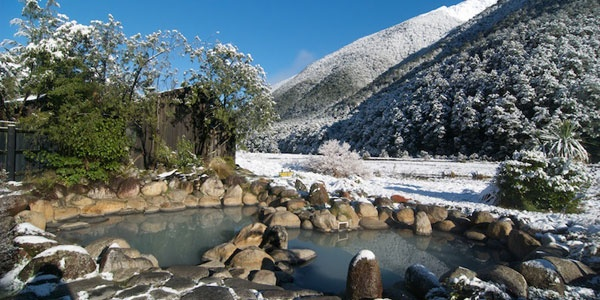 "Rock pools | Maruia Springs | ""Onsen"" Japanese style hot springs, Massage, Restaurant & Accommodations"