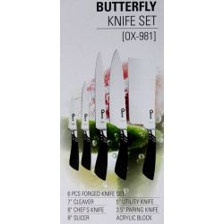 Ox-981 Oxone Butterfly Knife Set
