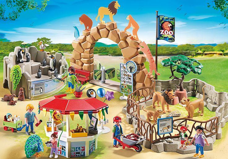 Large City Zoo - 6634 - PLAYMOBIL® USA