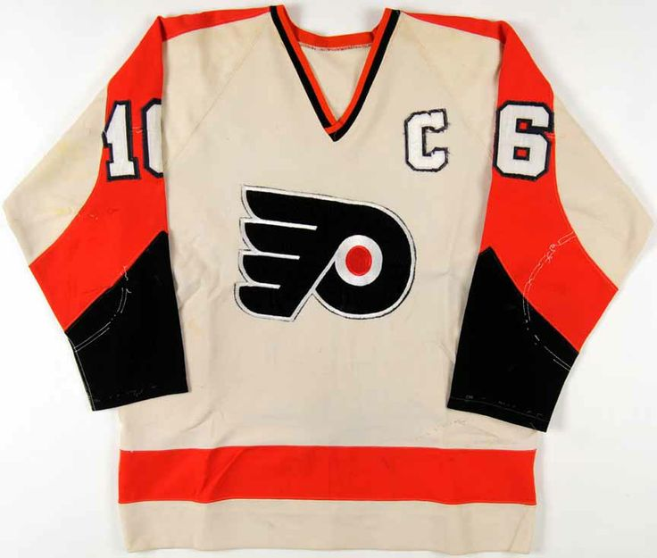 1972-73 Bobby Clarke Philadelphia Flyers Game Worn Jersey - 1st MVP Season - 1st Captain's Jersey – Photo Match
