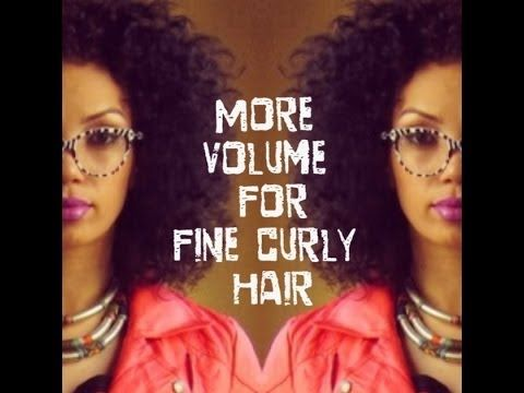 how to bring volume in hair naturally