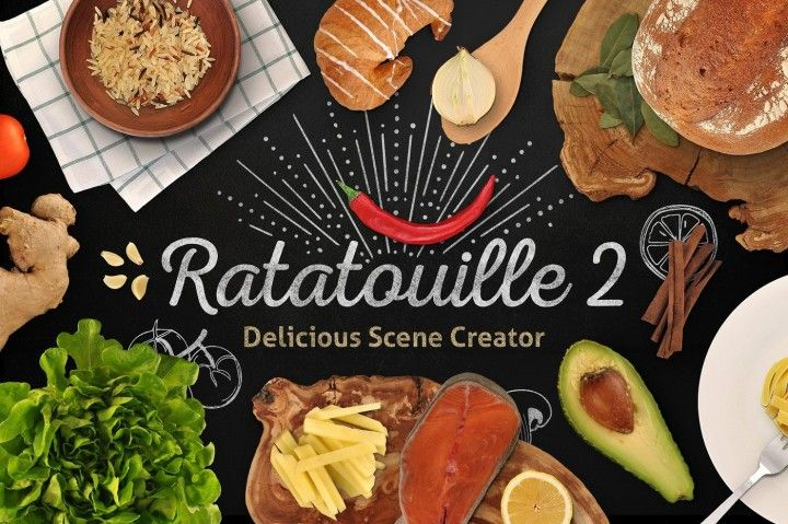 I'm happy to bring you the sequel to my most popular premium product of all times,Ratatouille Delicious Scene Creator! Meet the all-new, twice bigger, fantastically enhanced and expanded,Ratatouille 2. For 7 days only, 10% off the regular price ($29)