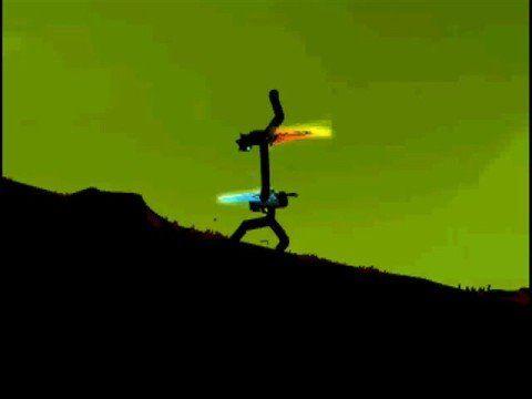 Very Cool Stick Figure Fighting