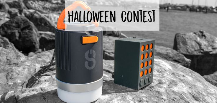 Halloween Contest — Enter and win #pistonpower Beacon & Elements speaker by #Logiix #tech #halloween #contest