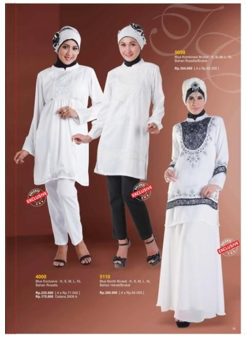 Blus Muslim All White Berkualitas By: Toyusin Collection Yukk di Order di www.toyusin.co.id SMS 087878968310 Telp. 021-6512884/85 Happy Shopping :D