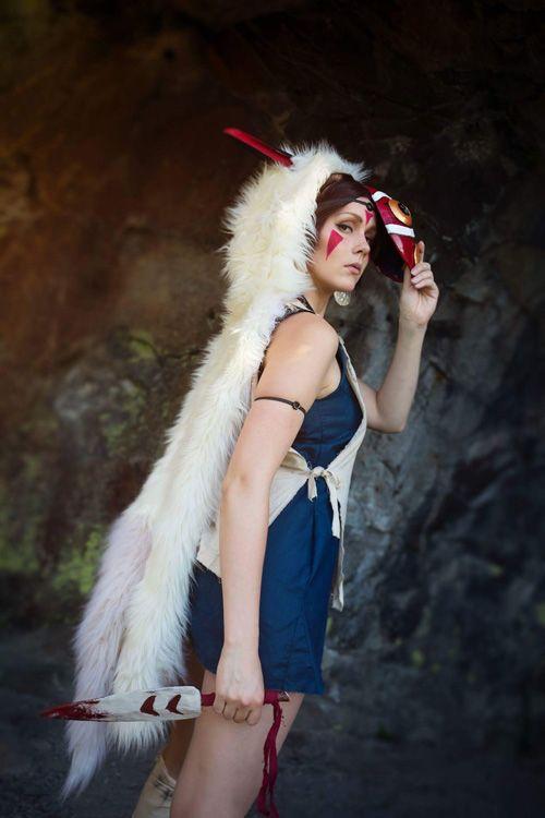 San from Princess Mononoke Cosplay http://geekxgirls.com/article.php?ID=8934