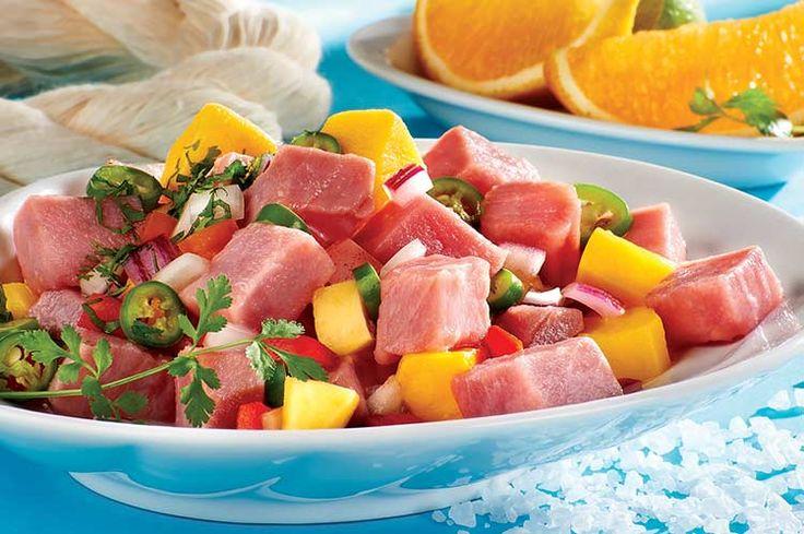 Ceviche de atún Tuny - Recetas de atún - Atún Tuny